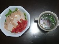 鶏ハム美肌サラダ